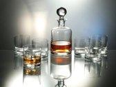 Kristallen whisky set Boha 7 delig