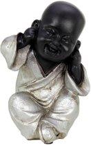 Boeddha monnik horen (hoogte 15 cm)
