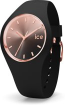 Ice-Watch Sunset IW015748 Horloge - Siliconen - Zwart - ∅  40 mm