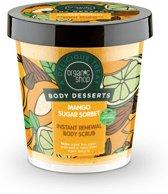Organic Shop Body Desserts Mango Sugar Sorbet Instant Renewal Body Scrub 450ml.