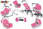 Poppenwagen Smoby Quinny 6-in-1