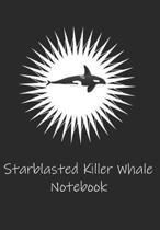 Starblasted Killer Whale Notebook