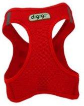 Dogogo Air Mesh tuig, rood, maat XL