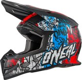O'Neal Crosshelm 5 Series Vandal Blue/Red/White-XS