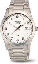 Boccia Titanium 3619.01  horloge - Titanium - Zilverkleurig - 40 mm