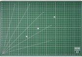 EXXO #10070 - A3 Snijmat; 5-laags zelfhelend; 2-zijdige rasterdruk; 30x45cm