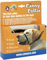 Canny Collar Zwart NR 6 - 48-53 cm