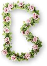 Basil Flower Garland - Bloemenstreng - Roze