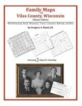 Family Maps of Vilas County, Wisconsin