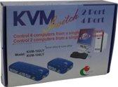 2 Poort Automatische KVM Switch YPK002