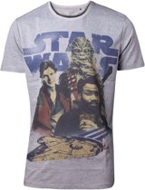 Star Wars - Han Solo 3 Is A Crowd Men s T-shirt - M