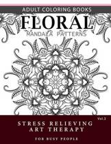 Floral Mandala Patterns Volume 3