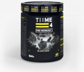 TIME 4 NUTRITION PRE- WORKOUT - 600g - BLACK JACK
