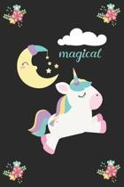 Magical (Unicorn Journal Notebook): unicorn journal, unicorn notebook, unicorn journal amazon, unicorn journal with lock, unicorn journal for girls, u