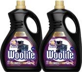 Woolite - Zwart & Donker met keratine - Vloeibaar wasmiddel - 2 x 2 liter