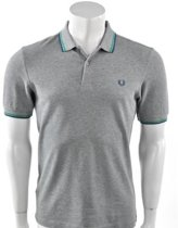 Fred Perry - Twin Tipped Shirt - Heren - maat XL