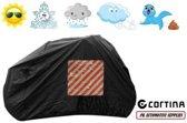 Fietshoes Met Insteekvak Polyester Geschikt Voor Cortina E-U4 Transport N7 2018 Heren -Zwart