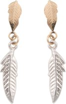 Cataleya Earrings Feather Bicolor