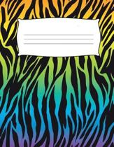 Kids Zebra Print Primary Journal Composition Notebook