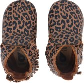 Bobux Babyslofjes Soft Soles Caramel Leopard Print - Medium