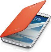 Flip Cover voor de Samsung Galaxy Note 2 (Samsung N7100) (orange) (EFC-1J9FOEG)