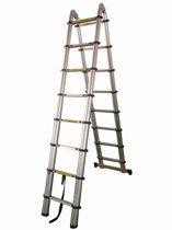 Telescopische inklapbare ladder (4.40 m)