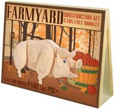 Animal Construction Kit - Farmyard Paul Pig