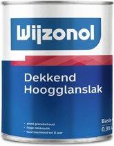 Wijzonol Dekkend Hoogglans, Wit - 500ml