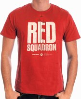 Star Wars - Rogue One Red Squadron Men T-Shirt - Red - L