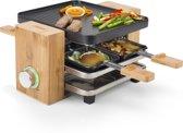 Princess 162900 Raclette Pure 4 - Gourmetset - 4 Personen