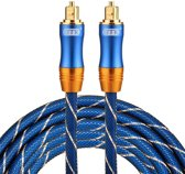 ETK Digital Toslink Optical kabel 3 meter / audio male to male / Optische kabel BLUE series - Blauw