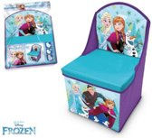 Disney Frozen opvouwbare opberg stoel L28 x L28 x H48 cm