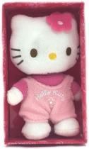 Hello Kitty - Knuffeltje - Roze Salopette