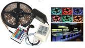 LED strip RGB 5-meter Plug & play WATERPROOF ip65 24-key