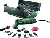 Bosch PMF 250 CES Multitool toolbox Oscillerend 250 Watt Inclusief 13 accessoires en stevige koffer