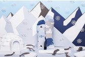 Toffe Sokken - Gekke Sokken - Leuke Sokken - Polar Bear - Maat: 35 t/m 38