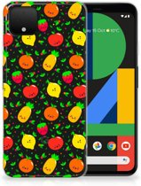 Google Pixel 4 XL Siliconen Case Fruits