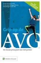 Boek cover Grip op de AVG van Jeroen Terstegge (Onbekend)