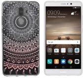 MP Case TPU case Mandala print voor Huawei Mate 9 back cover