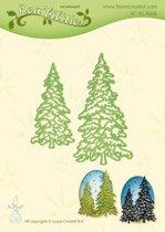 Leabilitie�  Kerstbomen -  snij en embossing mal