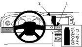Brodit center mount v. Audi A6 10-