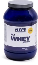 Nr.1 Whey Protein Hype Nutrition 2000g Vanille
