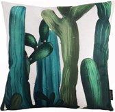 Cactus Plants Kussenhoes - Katoen/Linnen - 45 x 45 cm