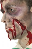 Halloween Wond met hechting en flesje bloed