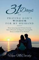 31 Days of Praying God's Wisdom for My Husband