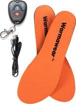 Warmawear™ Deluxe Draadloze Herlaadbare Verwarmde Waterproof Inlegzolen met Afstandsbediening- S