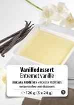 W8CONTROL High Protein Vanille dessert (5 x 24g) F1
