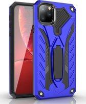 Mobigear Shockproof Stand Hoesje Blauw Apple iPhone 11