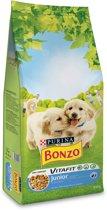 Bonzo VitaFit Junior - Kip, Melk & Groenten - Hondenvoer - 15 kg