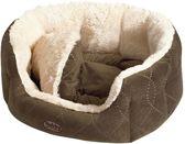 Nobby Comfortbed Ceno - Hond & Kat - Bruin - 45 x 40 x 19 cm